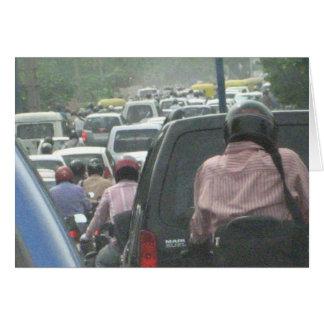 Carte 2008 du trafic de Delhi