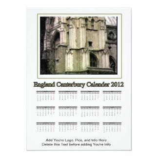Carte 2012 calendrier Angleterre Cantorbéry le MUSÉE