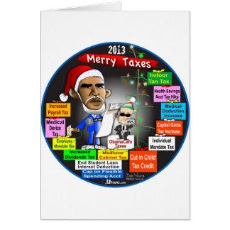 Carte 2013 joyeux impôts