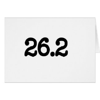 Carte 26,2 Définition de marathon