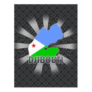 Carte 2,0 de drapeau de Djibouti