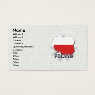 Carte 2,0 de drapeau de la Pologne