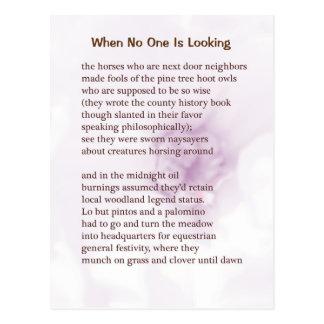 Carte #5 de poème d'asile de fous