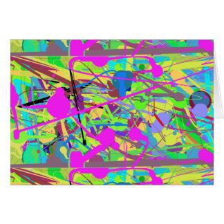 Carte 60-93 couleurs de printemps