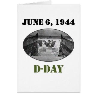 Carte 6 juin 1944 : Le jour J
