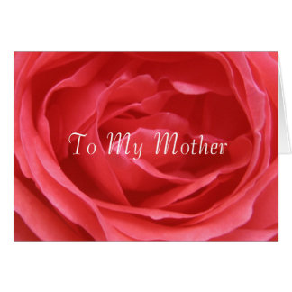 Carte À ma mère
