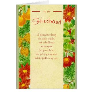Carte À mon mari