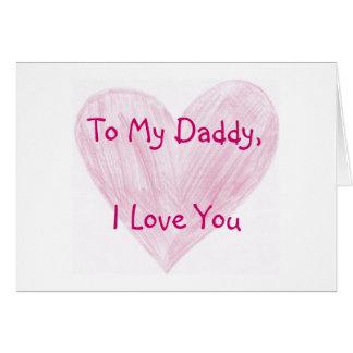 Carte À mon papa