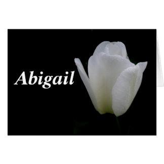 Carte Abigaïl