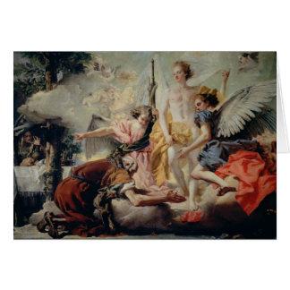 Carte Abraham et les trois anges