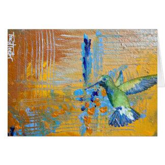 Carte Abrégé sur colibri