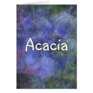 Carte Acacia