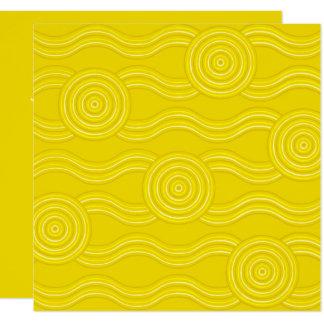 Carte Acacia indigène d'art