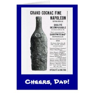 Carte Acclamation, papa de s, napoléon grand de cognac
