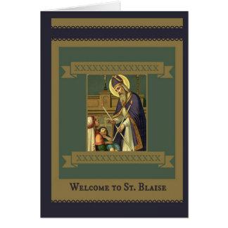 Carte Accueil de St Blaise à la paroisse