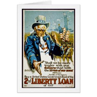 Carte Achetez un lien 1917 de gouvernement des