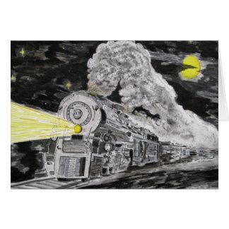 Carte Adieu à la vapeur