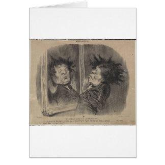 Carte Adolphe Cremieux par Honore Daumier