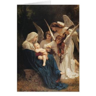 Carte Adolphe-William Bouguereau. Chanson des anges