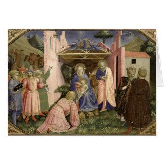 Carte Adoration des Magi, du predella