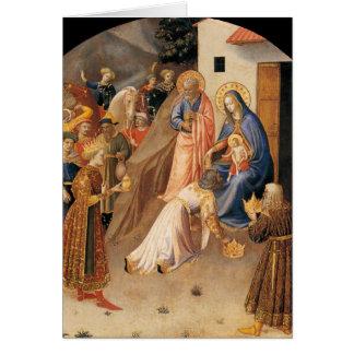 Carte Adoration des Magi par ATF Angelico 1423