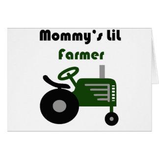 Carte Agriculteur de Lil de la maman
