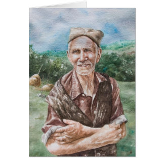 Carte Agriculteur plus âgé, Arandjelovac