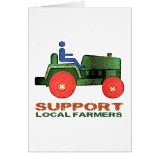 Carte Agriculteurs de soutien
