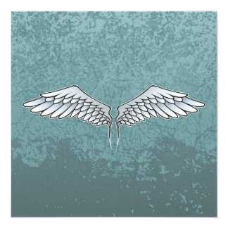 Carte ailes Bleu-grises