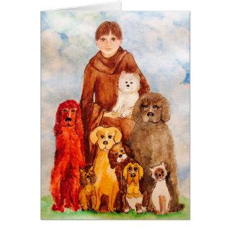 Carte Aimez nos animaux familiers
