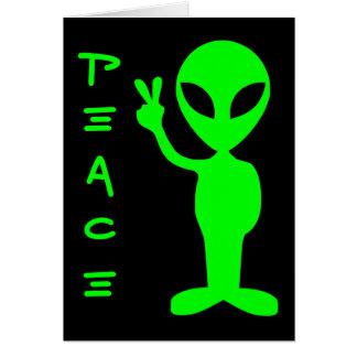 Carte Alien de paix