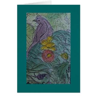 Carte alouette (et escargot)