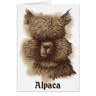 Carte Alpaga