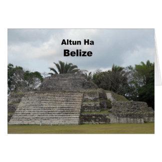 Carte Altun ha, Belize