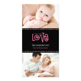 CARTE AMOUR À LA MODE PHOTOCARD : : LOVELETTERS 2P