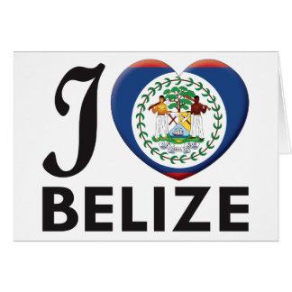 Carte Amour de Belize