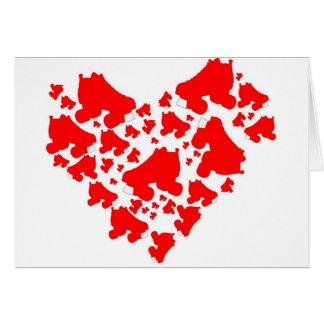 Carte Amour de Derby