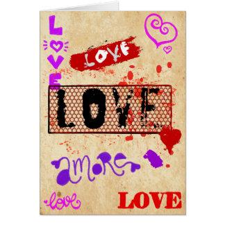Carte Amour de Rockin