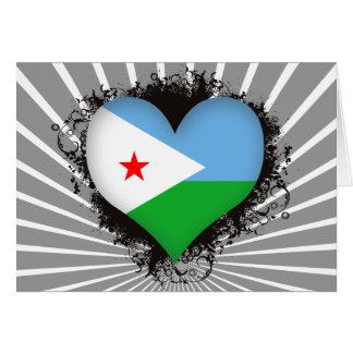 Carte Amour Djibouti du cru I