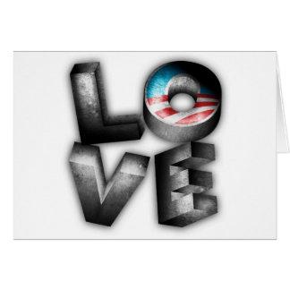 Carte AMOUR d'Obama 2012