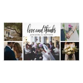 Carte Amour et mercis | vacances les épousant de cinq