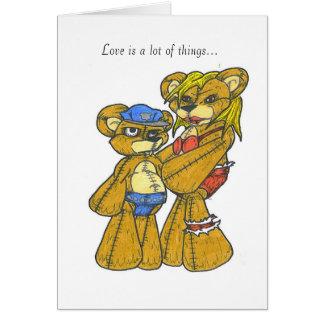 Carte Amour libertin