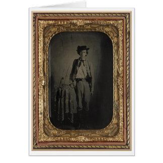 Carte Amour privé de Lucien, soldat confédéré