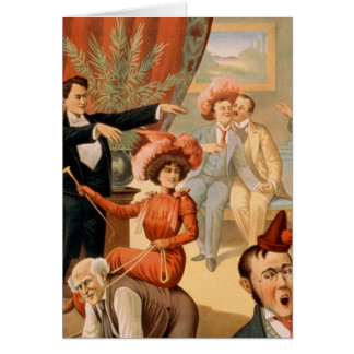 Carte Amusement d'hypnose