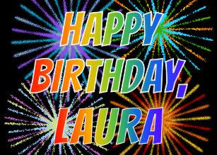 Invitations Faire Part Cartes Joyeux Anniversaire Laura Zazzle Be