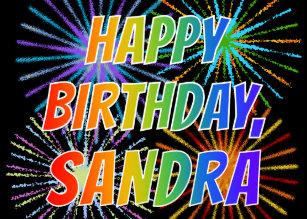 Cadeaux Anniversaire Sandra Zazzle Be
