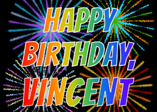 Invitations Faire Part Cartes Anniversaire Vincent Zazzle Be