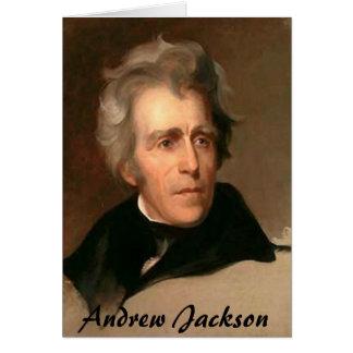 Carte Andrew Jackson