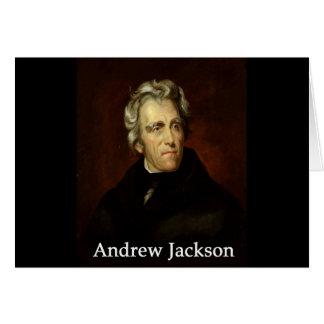 Carte Andrew_Jackson par le public Sully avec l'antiqua