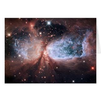 Carte Ange de neige de Hubble